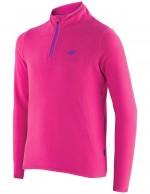 4F Microtherm childrens fleece underwear, shirt, fuchsia