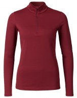 Kjus Ladies Feel Halfzip, baselayer, red