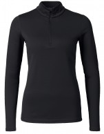 Kjus Ladies Feel Halfzip, baselayer, black