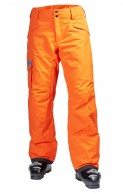 Helly Hansen Sogn Cargo mens ski pants, orange