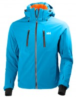 Helly Hansen Alpha 2.0 mens ski jacket, blue