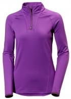 HH W Phantom 1/2 zip midlayer, purple