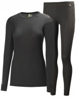 Helly Hansen W Comfort Dry 2-Pack, womens set, black