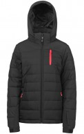 Protest Nocton 16 womens ski jacket, black
