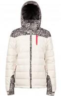 Protest Nocton 16 womens ski jacket, offwhite