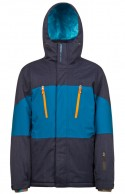Protest Insider mens ski jacket, blue