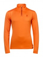 Protest Willowy mid-layer shirt, men, orange