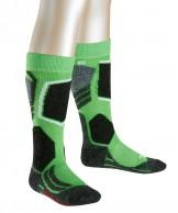 Falke SK2 ski socks, Kids, green