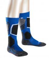Falke SK2 ski socks, Kids, blue/black