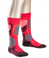 Falke SK2 ski socks, Kids, red