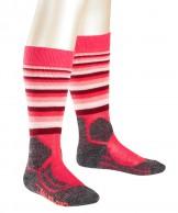 Falke SK2 Trend  ski socks, Kids, red