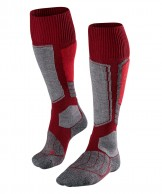 Falke SK1 ski socks, men, bordeaux