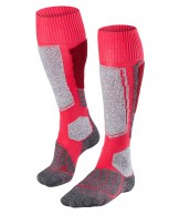 Falke SK1 ski socks, women, red