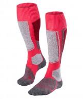 Falke SK1 ski socks, women, red