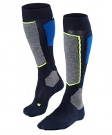 Falke SK2 ski socks, men, black/blue