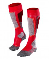 Falke SK2 ski socks, women, red