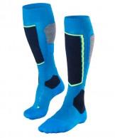 Falke SK4 ski socks, men, blue/black