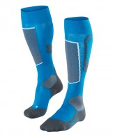 Falke SK4 Wool ski socks, men, blue