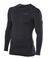 Falke Maximum Warm Longsleeved Shirt Tight Fit, men, black