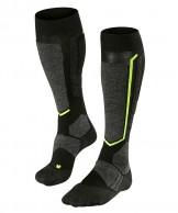Falke SB 2 mens snowboard socks, black