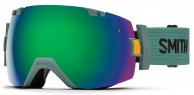 Smith I/OX Goggle, Ranger Scout/Green Sol-X Mirror