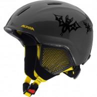 Alpina Carat LX, junior ski helmet, black/yellow
