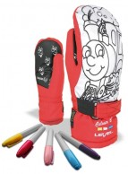 Level Pop-Art JR Mitt, red