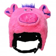 CrazeeHeads helmet cover, Poppi The Pig