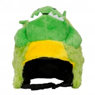 CrazeeHeads helmet cover, Pickles The Alligator
