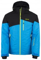 Kilpi Oliver, mens ski jacket, black/blue
