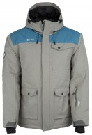 Kilpi Baker-M, mens ski jacket, grey