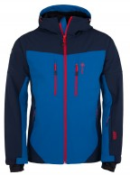 Kilpi Axis-M, mens soft shell jacket, blue