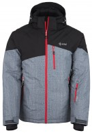 Kilpi Oliver, mens ski jacket, dark grey