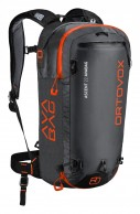 Ortovox Ascent 22 ABS AVABAG, black