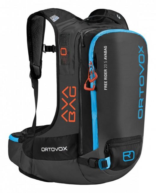 Ortovox Ortovox Free Rider 20 S ABS, AVABAG, black