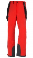 Kilpi Methone-M mens ski pants, red