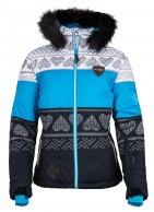 Kilpi Eufana, womens down jacket, blue