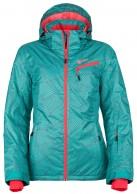 Kilpi Kanpu-W, womens short ski jacket, turquoise