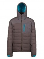 Protest Mount 16 mens ski jacket, grey