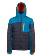Protest Mount 16 mens ski jacket, black/blue