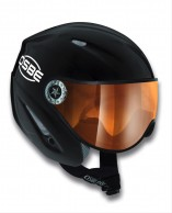 Osbe Start R, ski helmet with Visor, black master
