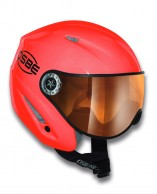 Osbe Start R, ski helmet with Visor, red  master