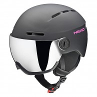 HEAD Queen ski helmet, w. Visor,black