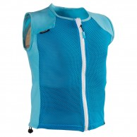 Head Flexor JR vest, back protector, blue