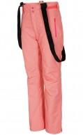 4F Aquatech ski pants, women, coral