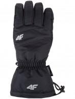 4F Inner Tech ski gloves, men, black