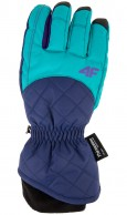 4F InnerTech womens gloves, blue