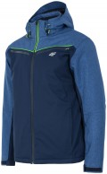 4F Ares ski jacket, men's, blue