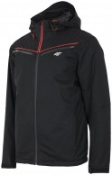 4F Ares ski jacket, men's, black
