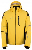 Kilpi Carpo-M, mens ski jacket, yellow